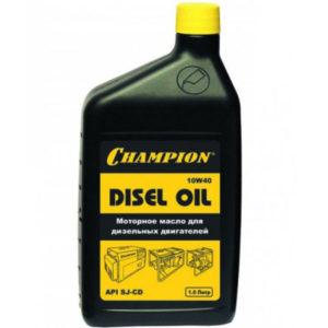 Масло дизельное CHAMPION 10W-40 1 л