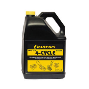 Масло для 4-тактное CHAMPION SAE30 4 л- 952821
