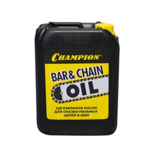 Масло для смазки пильных цепей и шин CHAMPION 5л- 952828