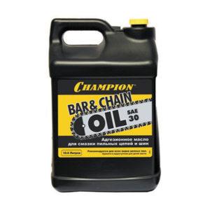 Масло для смазки пильных цепей и шин CHAMPION 10л- 952829